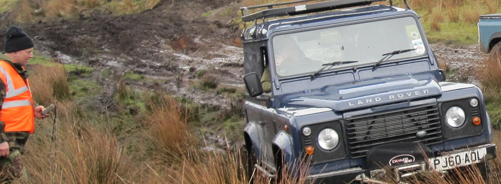 Experience the thrill of Land Rover trialing, join us today!